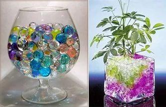 Аквагрунт для цветов: особенности выбора и применения
